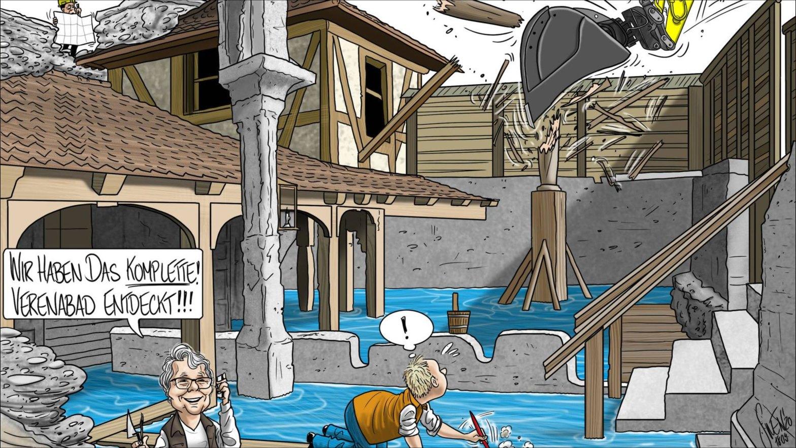 Karikatur Silvan Wegmann, AZ 20.09.2020